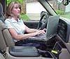 GMC Chevrolet G200 Desk Accessory Installation