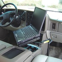SUV Laptop Table
